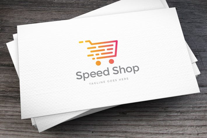 Thumbnail for Speed Shop Logo Template