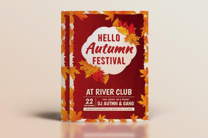 Thumbnail for Autumn Flyer Template