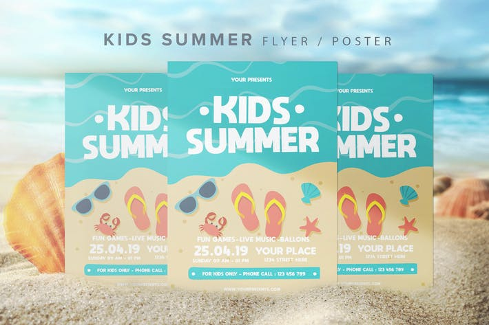 Thumbnail for Kids Summer Flyer