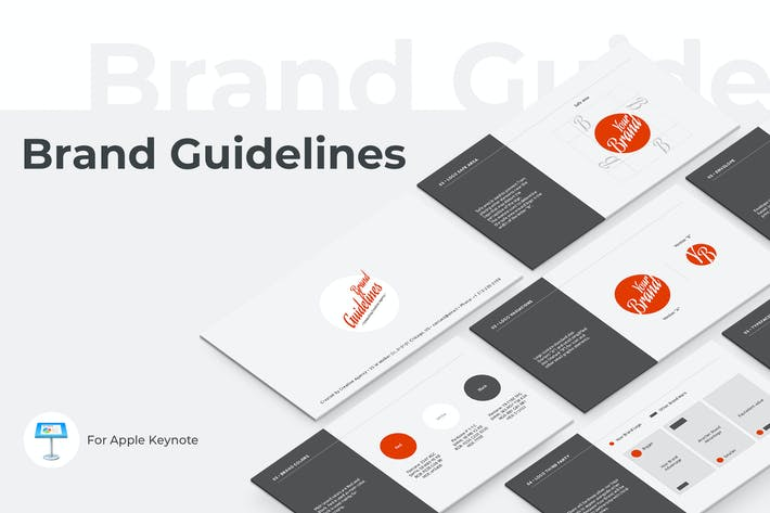 Thumbnail for Brand Guidelines Keynote Template