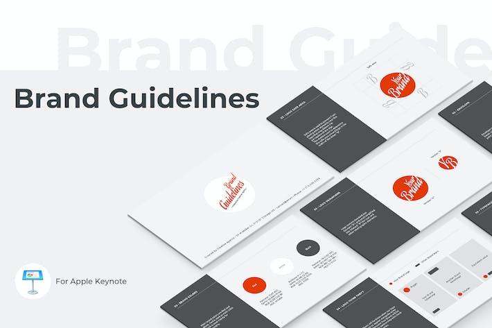 Thumbnail for Шаблон Keynote Руководства по торговой марке