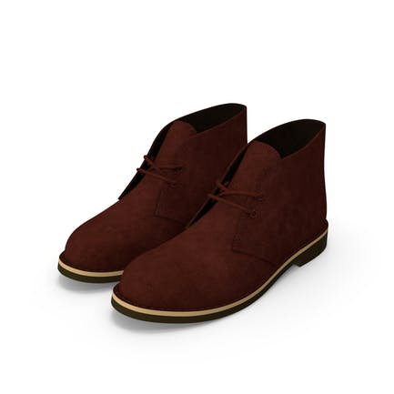 Suede Chukka Boots Brown