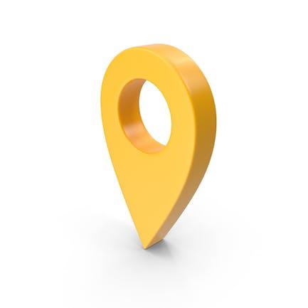 Kartenzeiger Gelb