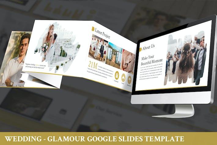 Wedding - Glamour Google Slides Template