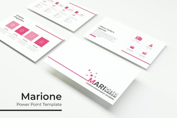 Thumbnail for Marione - PowerPoint Template