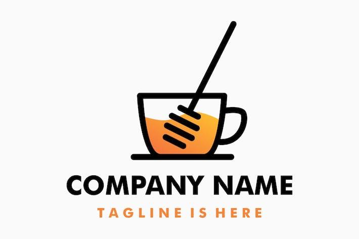 Honey Ice Drink Logo