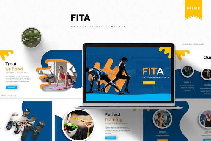 Thumbnail for Fita | Google PräsentationsVorlage