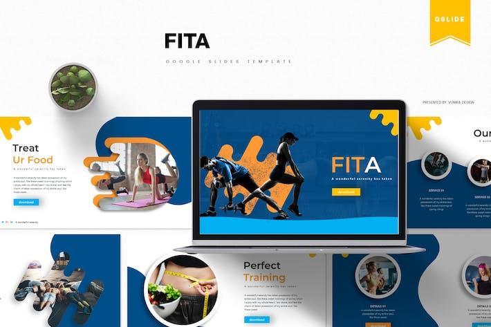 Cover Image For Fita | Google PräsentationsVorlage