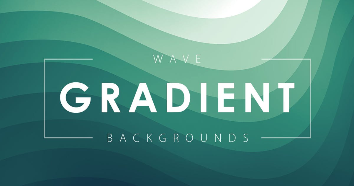 Wave Gradient Backgrounds by M-e-f