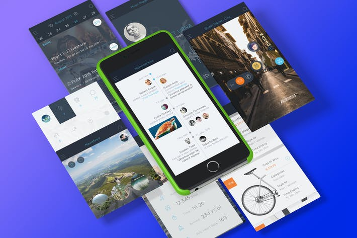 Thumbnail for AB Part 1 - Sketch Mobile UI Kit