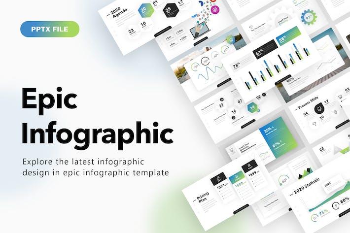 Thumbnail for Шаблон эпической инфографической презентации