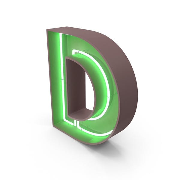 Thumbnail for Неоновая буква D