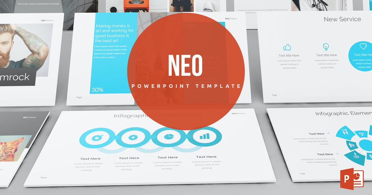 Download Neo Powerpoint Template by Unknow