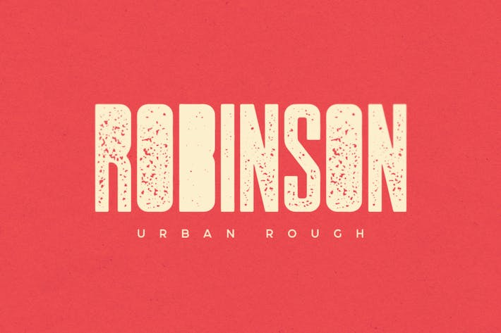 Cover Image For Robinson Urban Rough