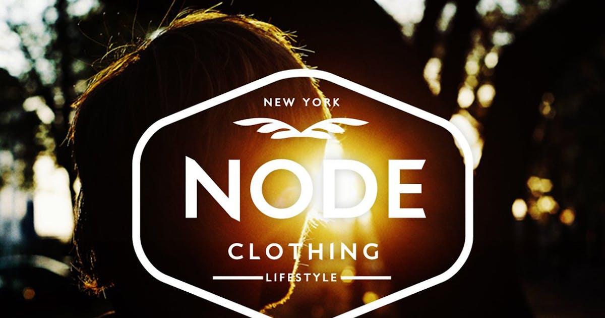 Download Urban Clothing Vintage Logo by designdistrictmx