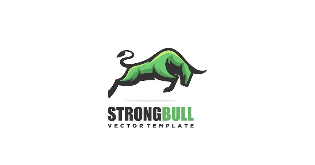 Download Bull Mascot Logo Template by ivan_artnivora