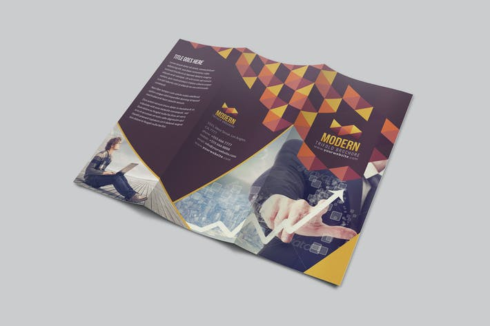 Thumbnail for Modern Trifold Brochure
