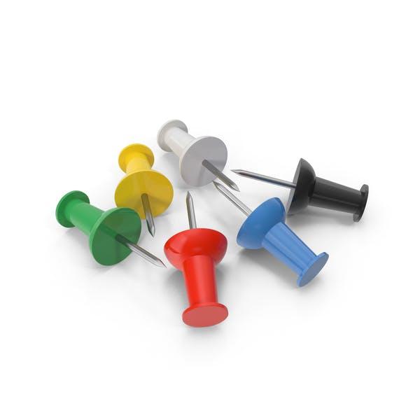 Multicolored Pins