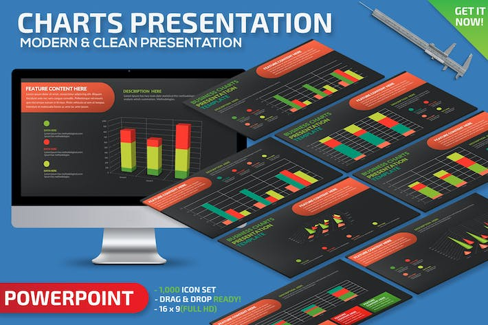 Thumbnail for Chart Powerpoint Presentation