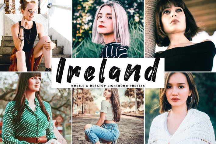 Thumbnail for Ireland Mobile & Desktop Lightroom Presets