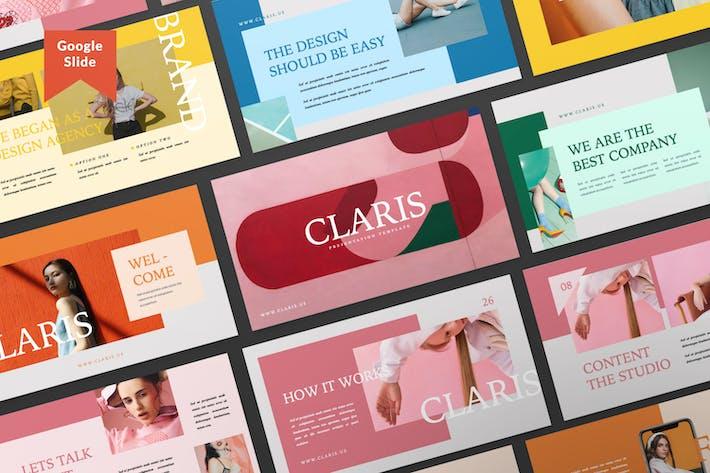 Claris Презентация бизнеса Google Слайд