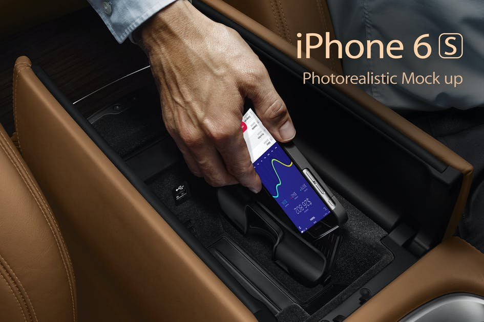 Download iPhone 6s Photorealistic Mockups by Anthonyrich