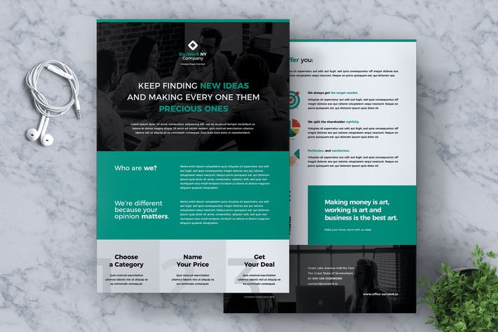 Thumbnail for Corporate Business Flyer Vol. 07