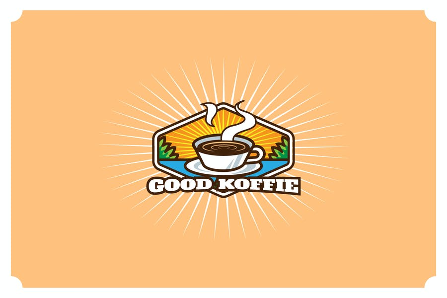 Good Koffie - Mascot & Esport Logo