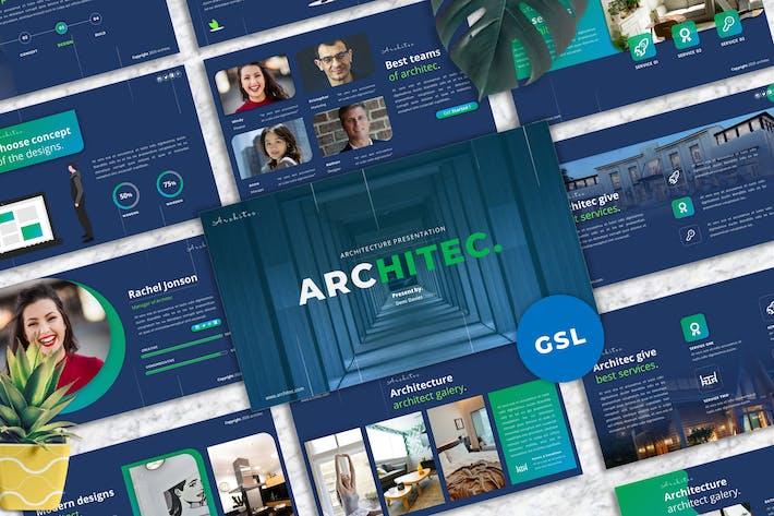 Architec - Architecture Business Googleslide