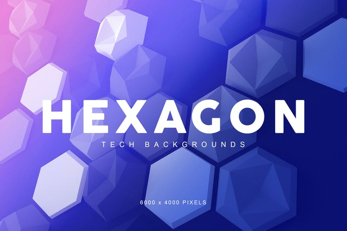 Thumbnail for Hexagon Tech Backgrounds 2