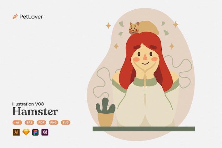 Thumbnail for Pet Lover V08 Hamster