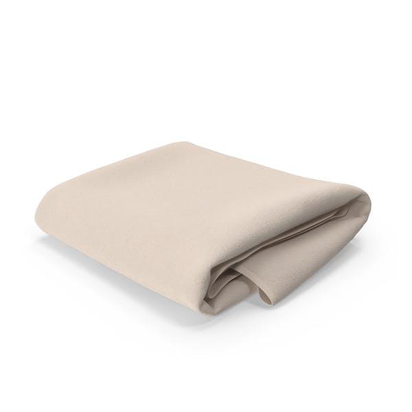 Beige Towel Folded