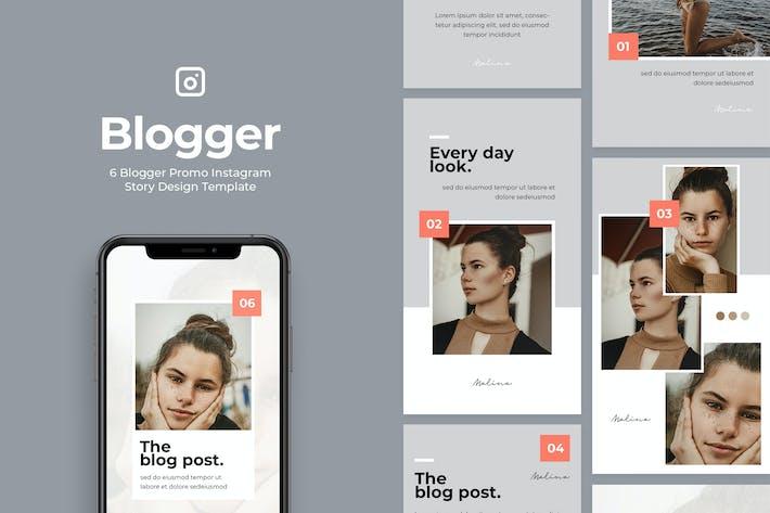 Thumbnail for 6 Promo Blogger Instagram Story Vol.1