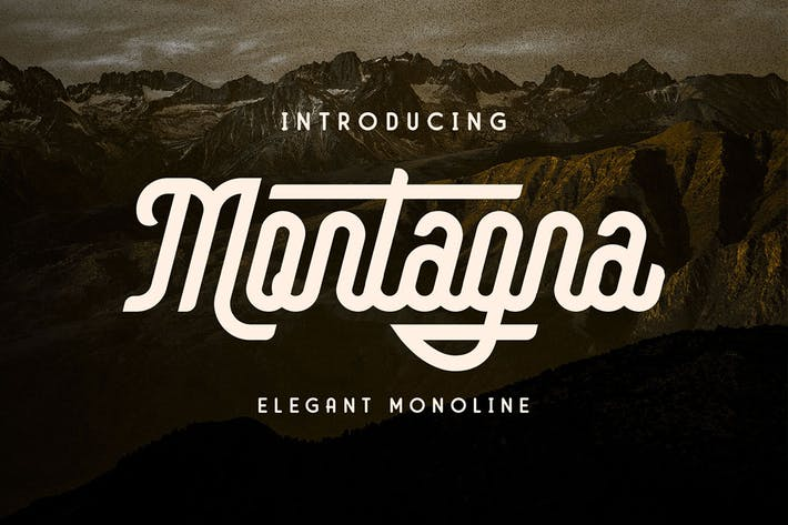 Montagna - Elegante monolina