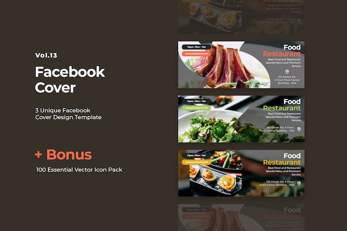 Thumbnail for Facebook Cover Vol.14