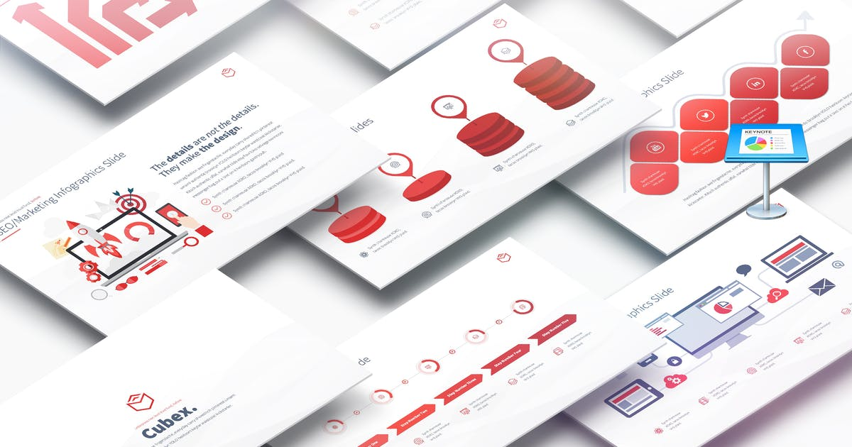 Download Cubex - Multipurpose Keynote Presentation by pulsecolor