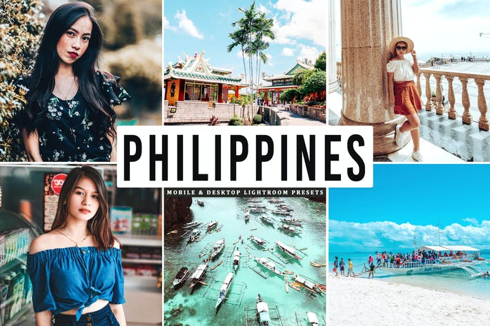 Thumbnail for Philippines Mobile & Desktop Lightroom Presets