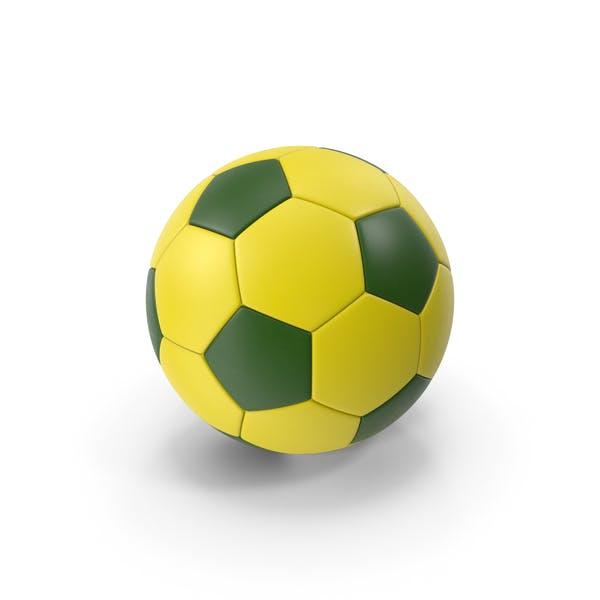 Футбольный мяч Желтый