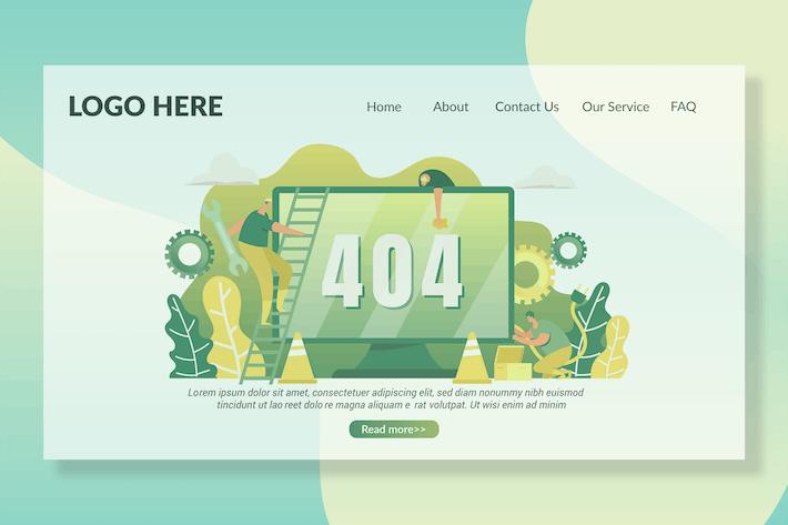 404 Seiten - Zielseite