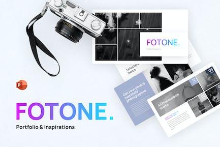Fotone Portofolio Powerpoint Template