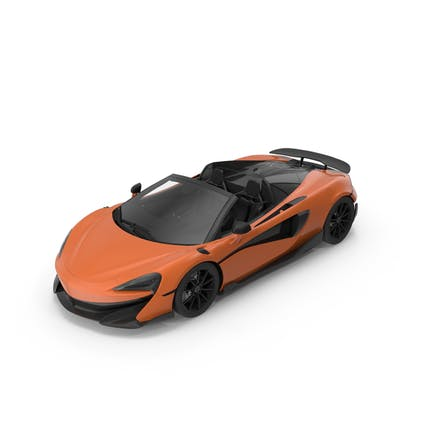 Sports Car Orange