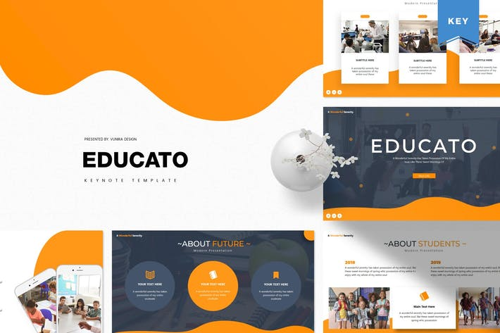 Cover Image For Educato | Keynote Template