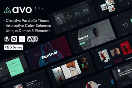 Avo - Porfolio Creativa y Agencia Tema de WordPress
