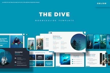The Dive - Google Slides Template