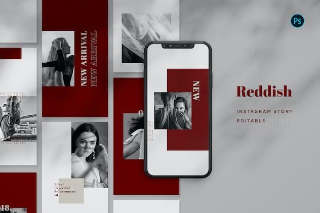 Reddish Fashion Intagram Story BL