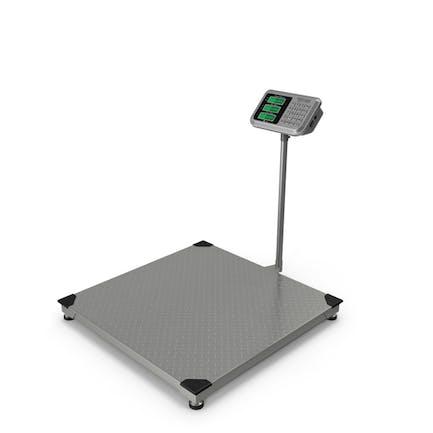 Lagerwaage mit digitaler Gewichtsindikator