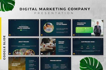 Digital Marketing Pro Google Slide