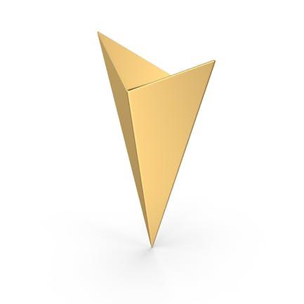 Reise-Pin Gold