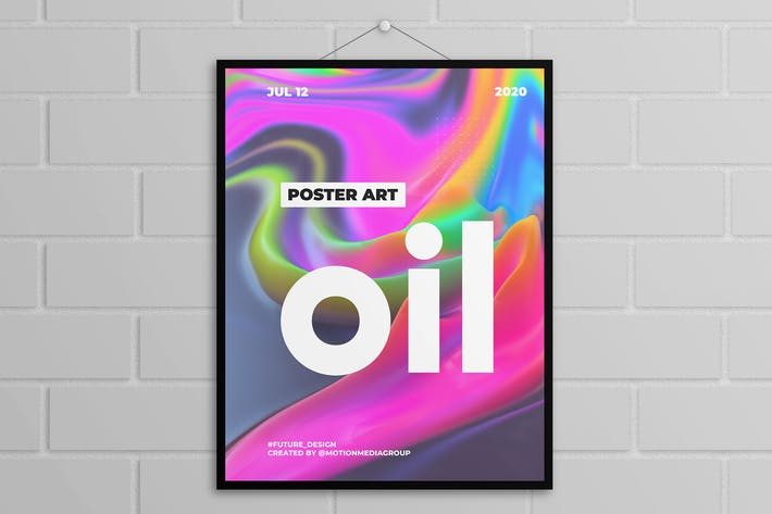 Thumbnail for Abstract Colorful Poster