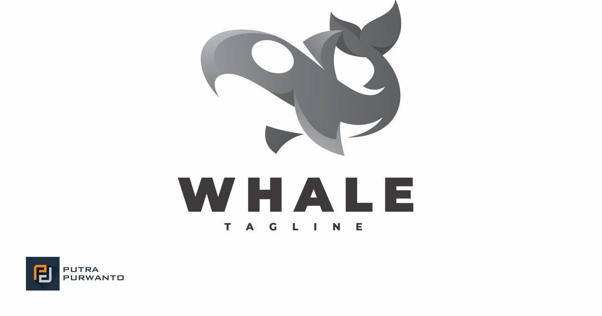 Download Whale - Logo Template by putra_purwanto